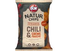OLW Naturchips Chili & Crème Fraiche