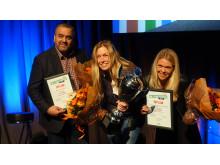 Årets finalister i NM i sunn Fastfood 2018