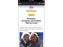 Screenshot LinkedIn Iphone5 Reader
