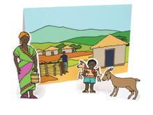 Ge bort en get från ActionAid i julklapp!