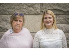 Eva Henriksson Garatea och Emma Viking