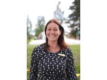 Sarah Larsson, anläggningschef Mora Parken