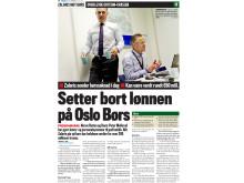 Finansavisen: Setter bort lønnen på Oslo Børs
