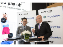 MRO Asia signing between Satair & Pratt & Whtiney