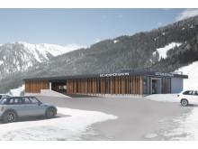 Dalstation nya gondolen - EIchenhof Talstation