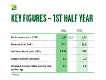 Half Year 2013 - Key Figures