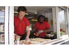 Santa Maria food truck auditionturnén