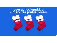 Merkitse joulusukkasi Brotherin P-touch-tarratulostimella!
