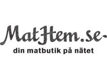 MatHem Svart logga eps