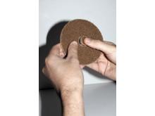 Enkel overfladebehandling med nye rondeller og bagskiver - løst centerhul