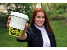 IMEX 2019: Coffee To Go To Leipzig - ausgeschenkt in nachhaltigen Porzellanbechern