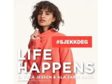 Bik Bok Podcast Life Happens - Sjekkdeg