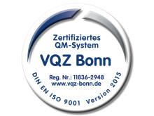 """Zertifikat für die Abteilung FPZ am Rhein im Geltungsbereich """"FPZ RückenTherapie"""""""