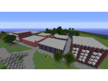 Nyköping i Minecraft