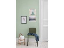 Eco Wallpaper Crayon - Emerald Green