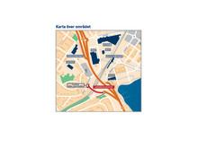 Karta Järnvägsviadukten