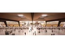 Avreise i ny terminal 2017