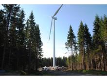 Vindkraftverk på Högtjärnsklack
