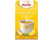 Yogi Tea Ginger Lemon poser økologisk