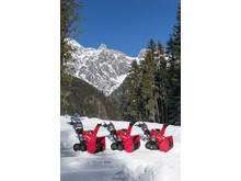 Honda nya snöslungor i 7-, 9- och 13-serien