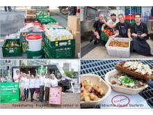 Foodsharing Aktion 'Essen-retten in München