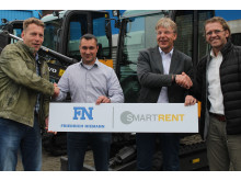 Swecon smartrent - Startschuss erfolgt: Erste Mietpartner erfolgreich angeschlossen