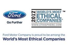 Ford er blandt verdens mest etiske virksomheder