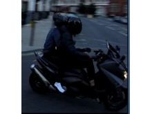 APPEAL: Still of suspects on moped