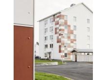 Studentbostäder i Karlstad. Källa: Cembrit.