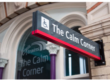 The Virgin Trains Calm Corner