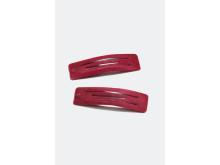 Velvet Hair Clips (2-pakning)