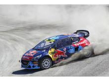 Team Peugeot-Hansen avancerade i Hell
