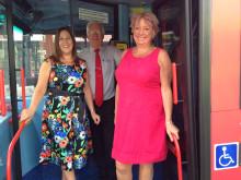 Redditch MP Karen Lumley visits Redditch station