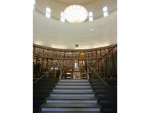 Stockholms Stadsbibliotek trappa till rotunda