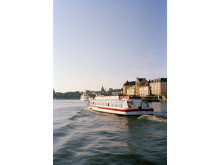 Sightseeing med båt i Stockholm