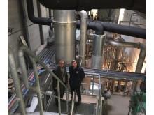 MdB Uwe Feiler am 30. Januar 2017 zu Besuch bei Takeda in Oranienburg.