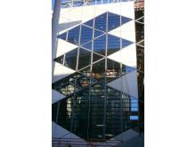 "Fassade des ""Diamanten"" - The Diamond"": Neubau der Sheffield University"