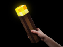 Minecraft-fakkel (Light-Up Torch)