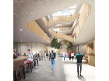 Högskolan Kristianstads möjliga entré - idéskiss