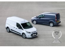 FORD TRANSIT CONNECT KÅRET TIL 'INTERNATIONAL VAN OF THE YEAR 2014'