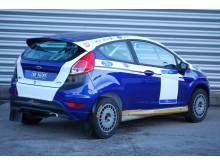 Denne bilen skal Andreas benytte i årets første NM-runde i rally