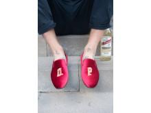 op-skor  och flaska