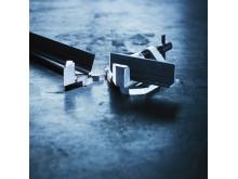 TYROLIT Cerabond System - avkapad balk i avkapat skruvstäd