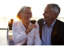 Danmark favoritresmålet för svenska pensionärer visar ny undersökning från Stena Line