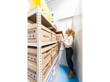 Use shelving for easy access