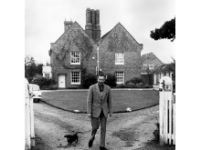 c1965 - Benjamin Britten At The Red House