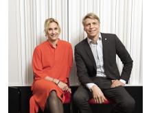 Emma Jonsteg och Per Bolund i Svensk Byggtjänsts podcast Snåret