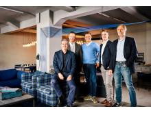dmexco 2018 - Markus Frank, Christoph Werner, Dominik Matyka, Philipp Hilbig, Matthias Wahl @dmexco