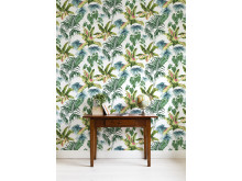 Tropic Toile Spring - Photowall