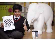 Youngest ever Elephant Parade Artist for 2013 National Tour